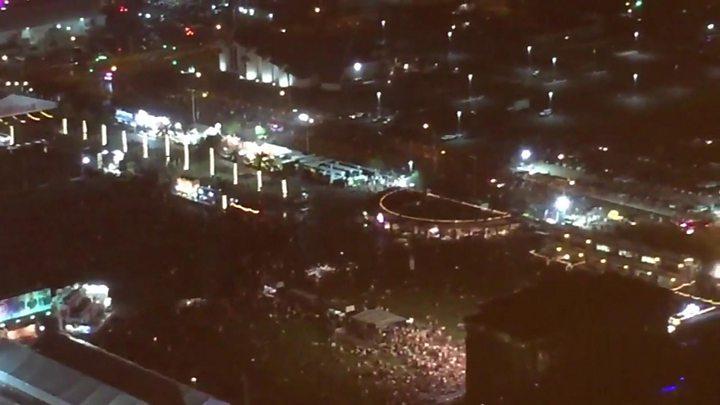 Las Vegas: Mass casualties in Mandalay Bay shooting