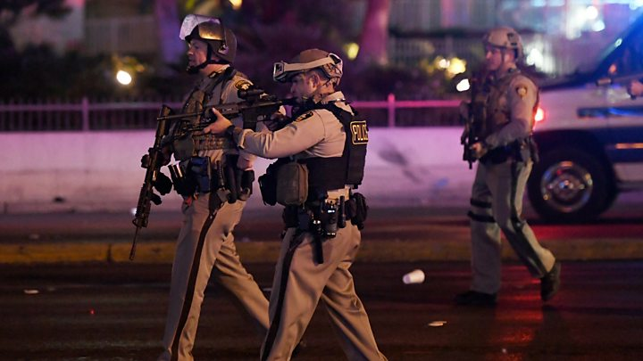 Officials retrace steps of Las Vegas shooter Stephen Paddock