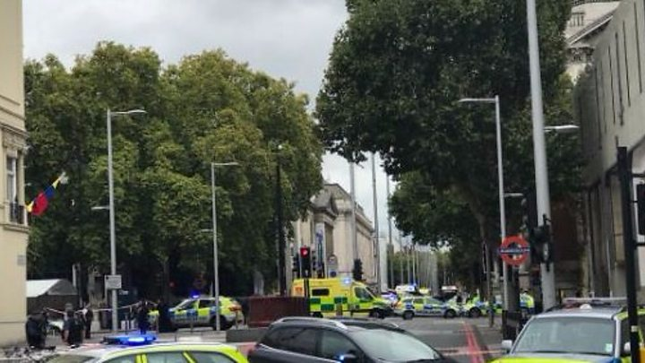 Natural History Museum crash: People hit by car