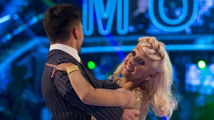 Debbie McGee makes Strictly Come Dancing boo-boo