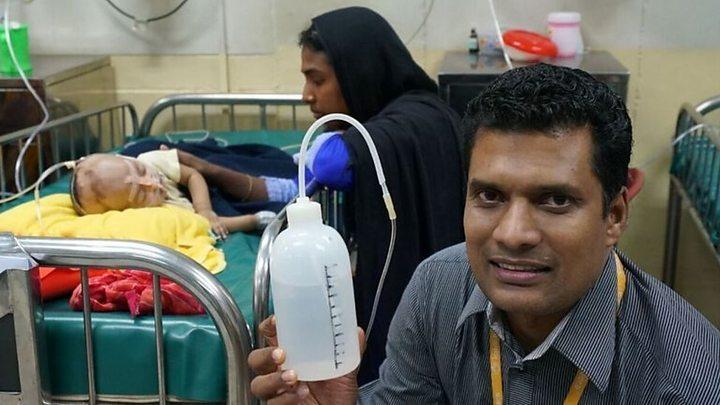 The shampoo bottle saving babies from pneumonia