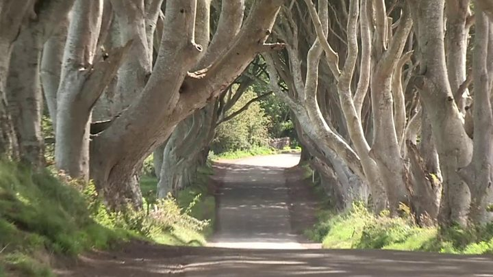Game of Thrones road bans traffic