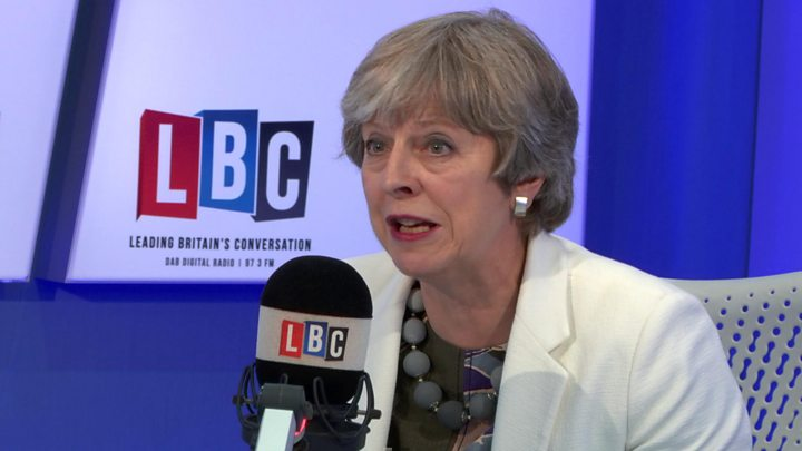 Theresa May won't say if she'd vote for Brexit now