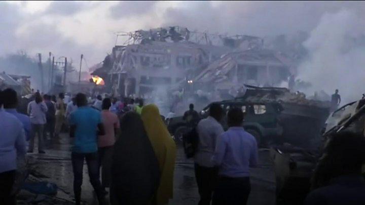 Somalia: At least 230 dead in Mogadishu blasts