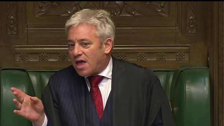 Commons Speaker