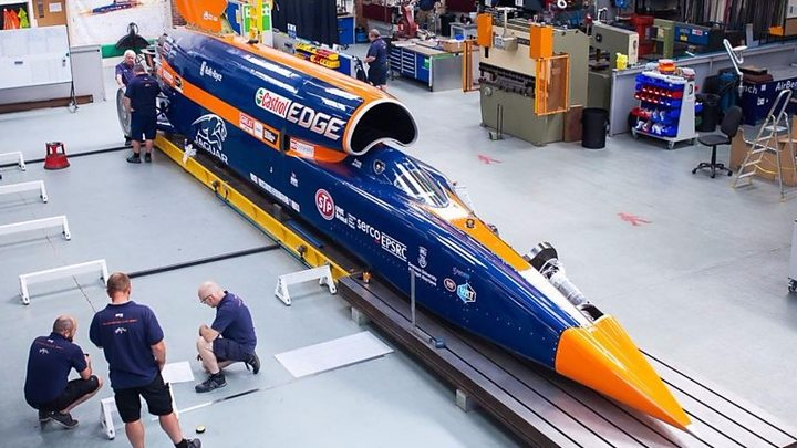 Auto created to travel 1000mph set for first public test