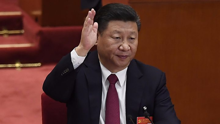 China congress: No heir anointed as Xi reveals top leadership