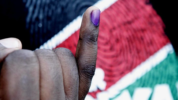 Kenya's Odinga urges supporters to stay away from polling stations