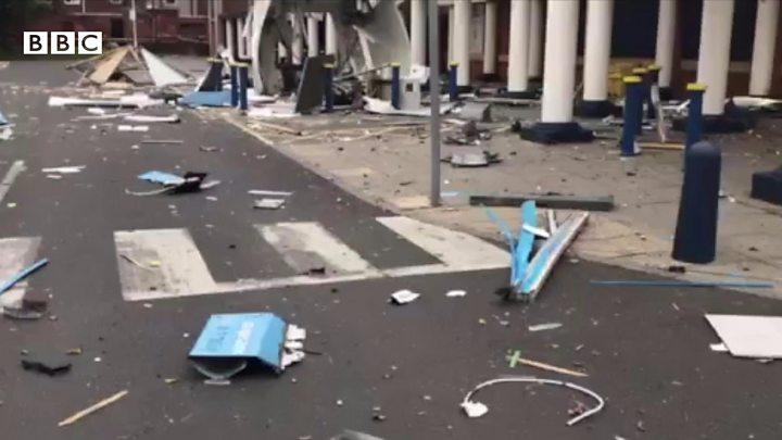 Raiders 'used gas' to blow up Darlington Matalan ATM