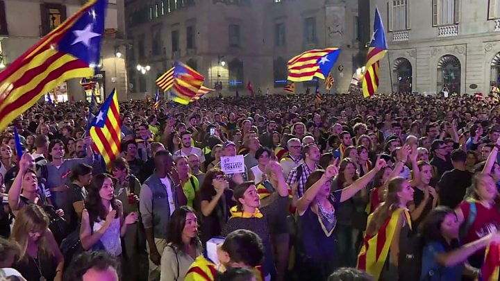 Catalonia independence: Spain strips police chief of powers