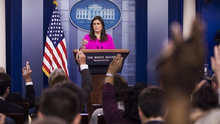 White House: 'Today's announcement has nothing to do with the president'