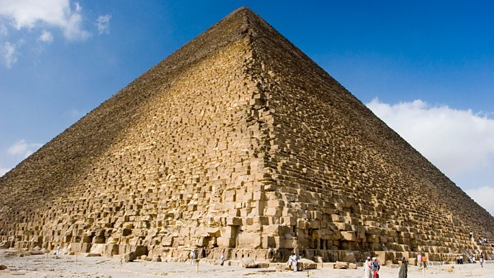 great pyramid of giza inside