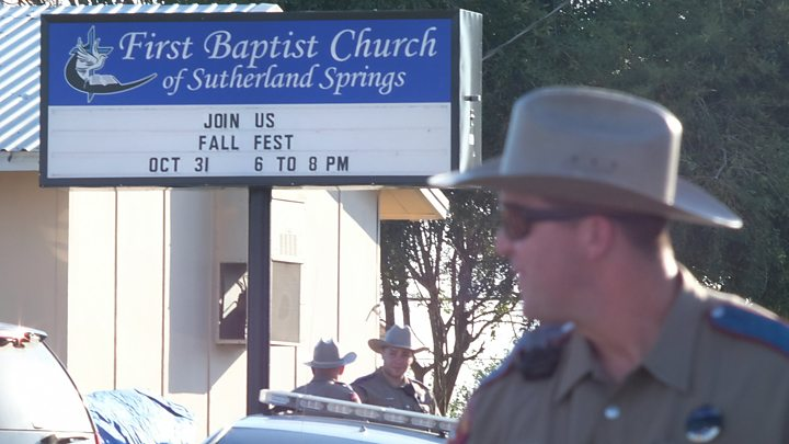 Sutherland Springs: Men chased Texas church shooting suspect