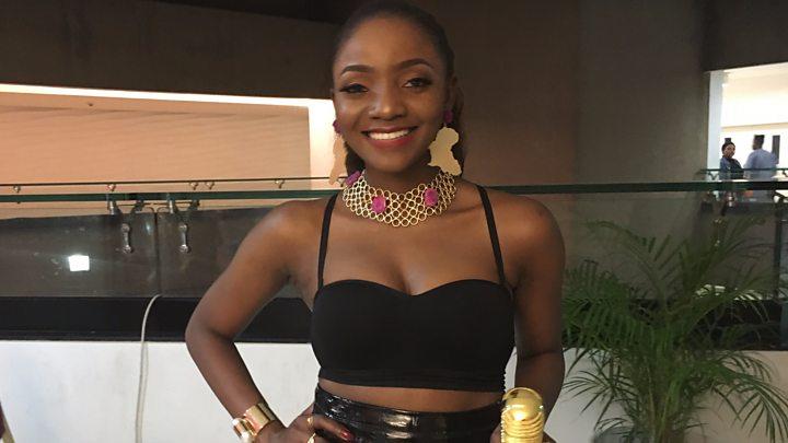 Nigerian Singer Simi talk to BBC Pidgin at AFRIMA