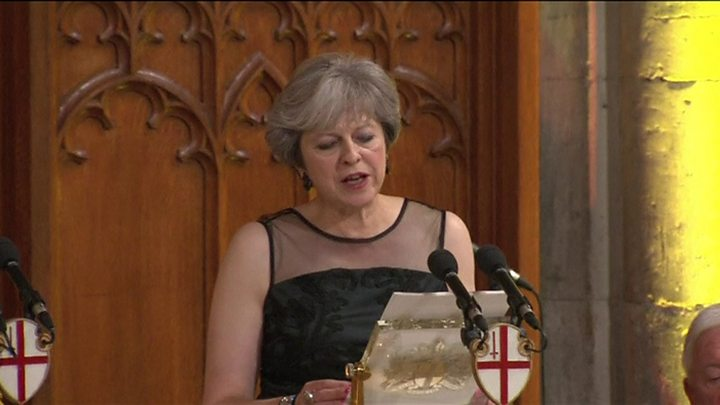 UK PM Theresa May accuses Russian Federation of meddling in election, cyber espionage
