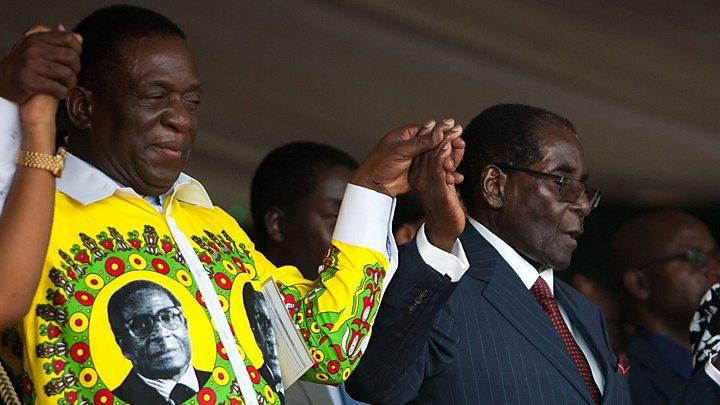 Zimbabwe's Mugabe 'under house arrest' after army takeover 2