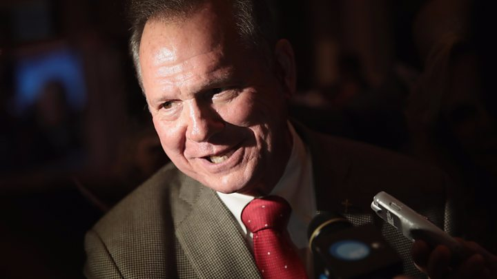 Trump Opens the Door to Campaigning for Roy Moore