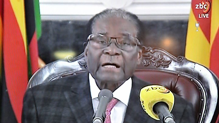 Robert Mugabe: 'The congress is due... I will preside over its processes'