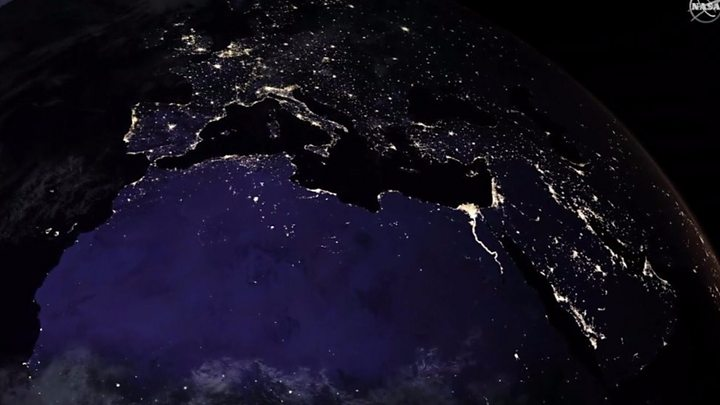 Light pollution: Night being lost in many countries