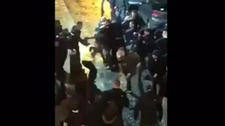 Liverpool street brawl: Ten people arrested