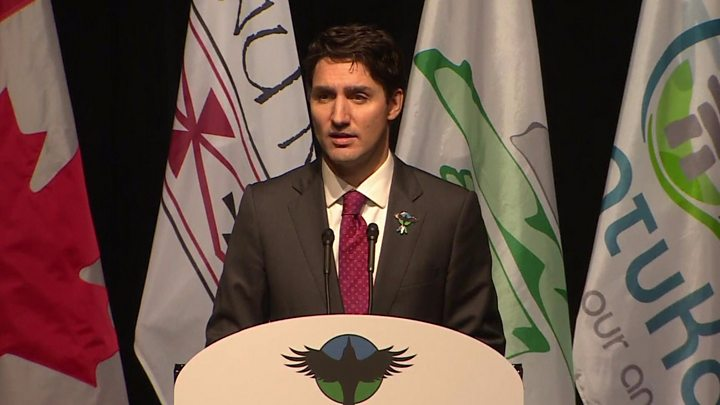 Trudeau apologises for 'deep harm' of residential schools