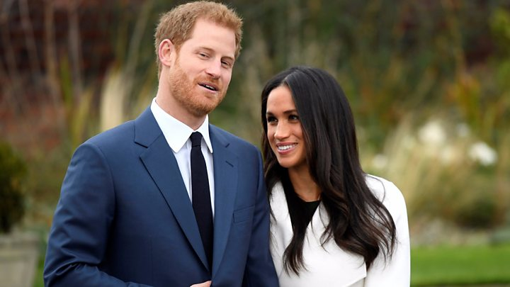 Harry and Meghan face the cameras