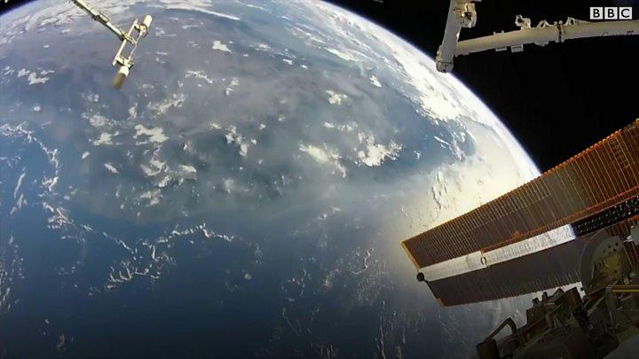 trump budget cuts us cash for international space station bbc news