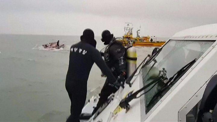 South Korea boat collision leaves 13 dead