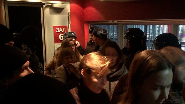Лидера SERB арестовали засрыв показа фильма обУкраине