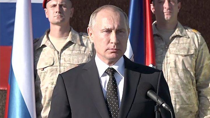 Владимир Путин приказал выводить российскую группировку войск из Сирии