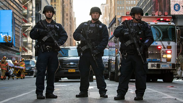 Four injured in terrorist attack in NY, suspect under arrest