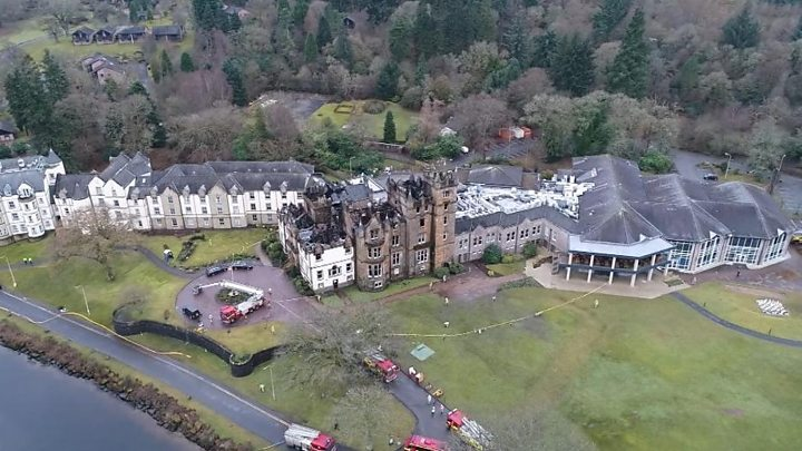 Couple killed in Cameron House Hotel fire named