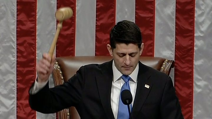 House forced to revote on tax reform bill