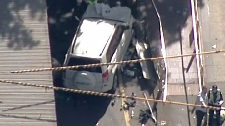 Eyewitness describes Melbourne crash