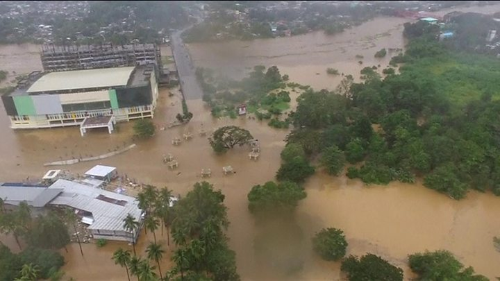 Philippines Tropical Storm Tembin kills more than 100 on Mindanao
