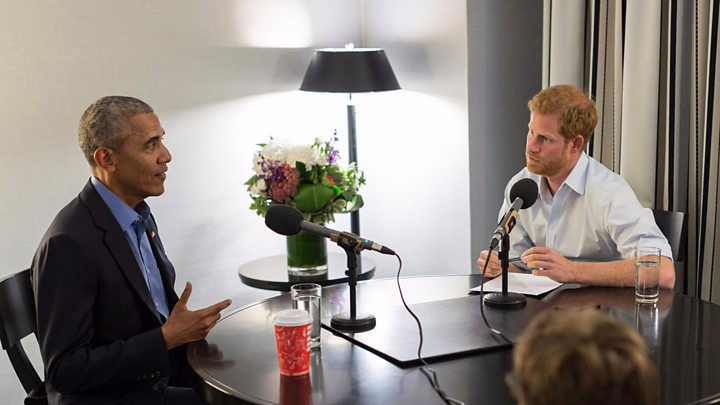 What Prince Harry asked Obama: Boxers or briefs? Khloe or Kim?