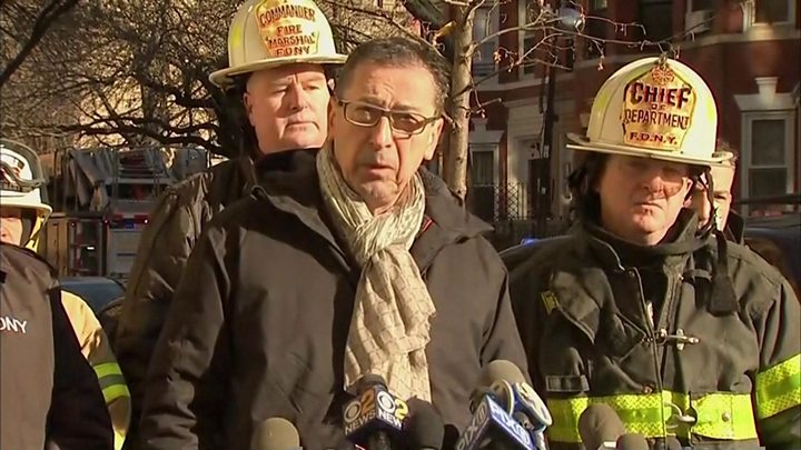 Bronx NYC fire 'caused by child playing'