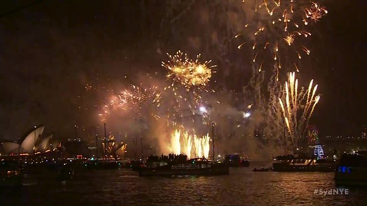 New Year's Eve 2017: UK prepares to celebrate despite storm and strikes