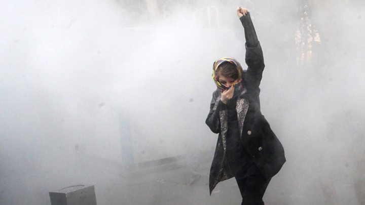 Iran appears to have beaten down sudden protests
