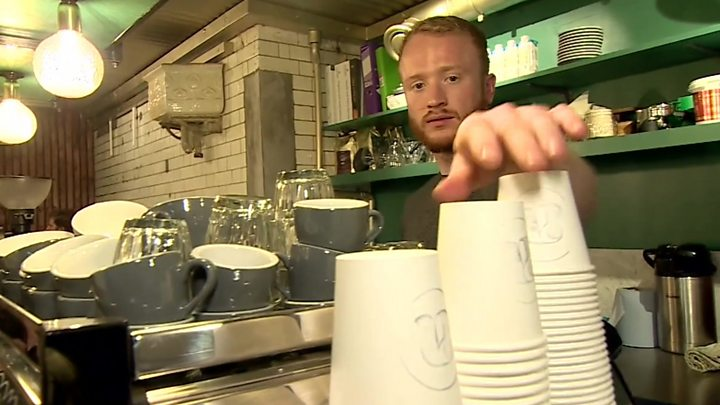 Starbucks trials 5p charge on disposable cups