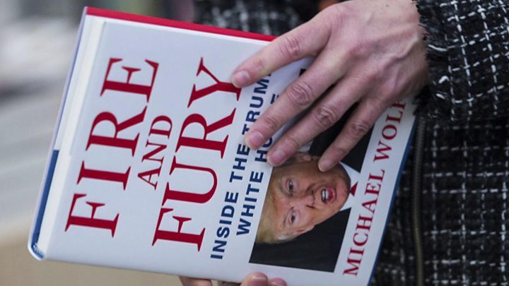 I am a very stable genius , says Trump — Fire and fury