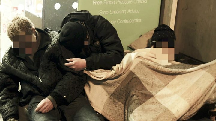 The 'Russian roulette' drug tearing apart homeless lives