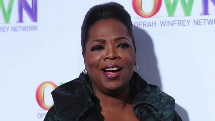 Oprah says she doesn't want to run for president