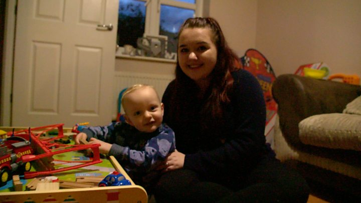 'Being a teenage mother is so lonely'
