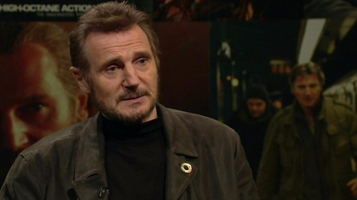 Hollywood star Liam Neeson scoops award in Dublin