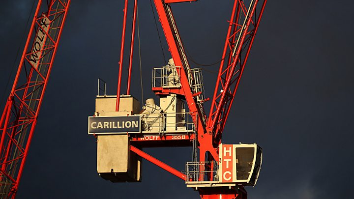 Carillion was left with just £29m before going bankrupt