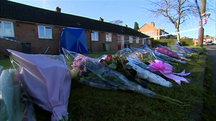 Neighbours speak of shock after girl, 8, stabbed to death