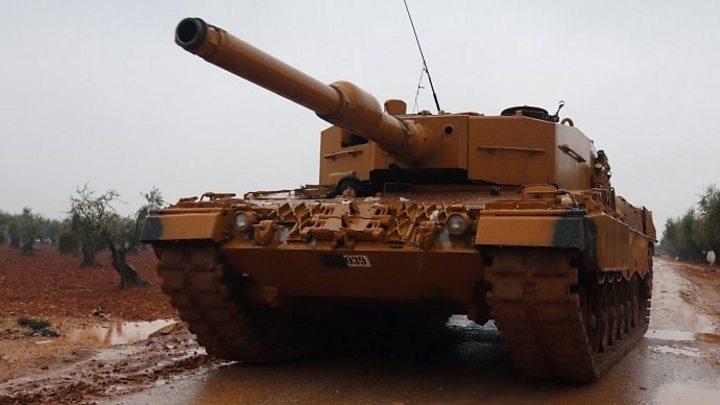Afrin Offensive Turkey Warns Syria Against Helping Kurds BBC News - Where is syria and turkey