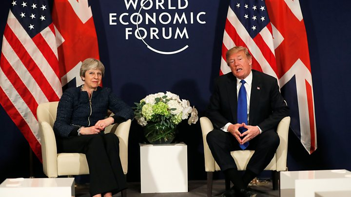 President Trump predicts 'tremendous increase' in UK-US trade