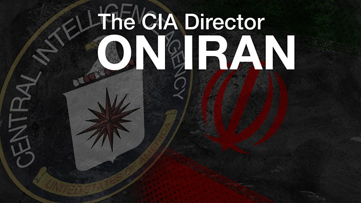 CIA Director: 'Hopeful that Iran's people will rise up'